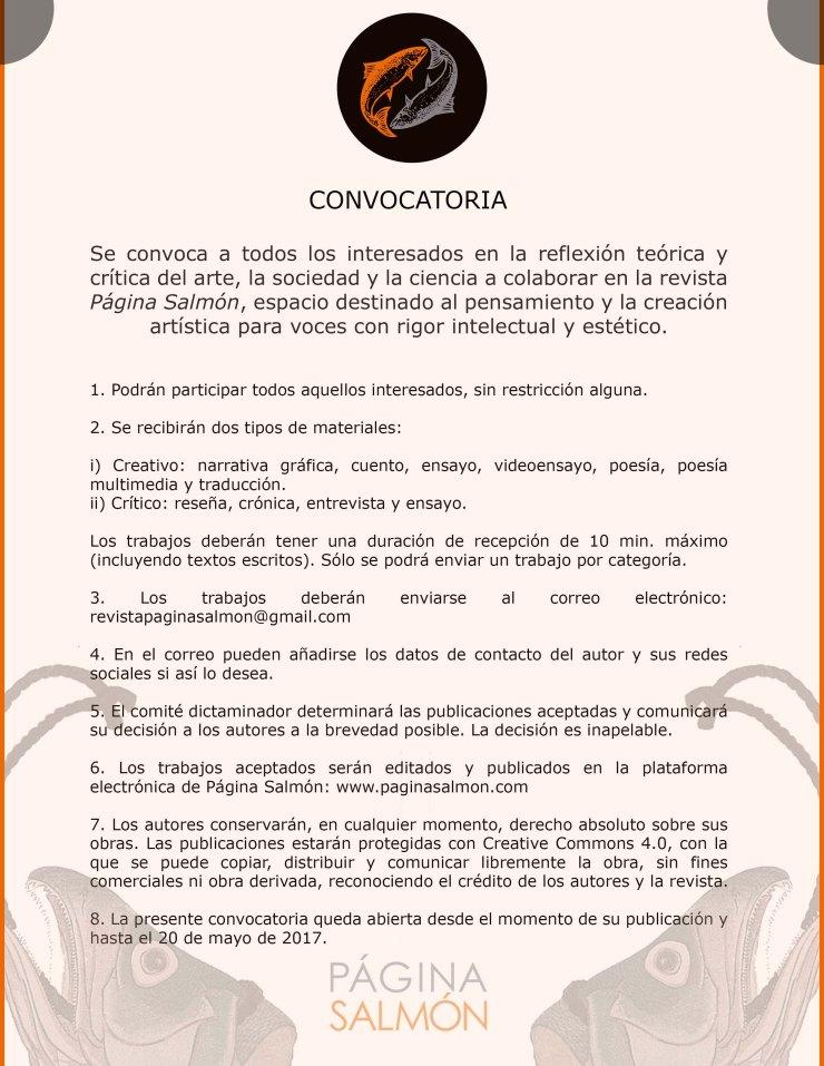 convocatoria 3 español